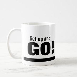 Get Up and GO! Coffee or Tea Mug
