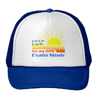 Get Up Early CPA Exam Study Trucker Hat