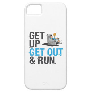 Get Up, Get Out & Run! iPhone SE/5/5s Case