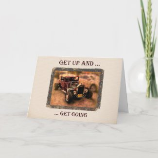Get Up Get Well Card