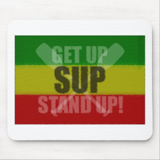 Get Up Stand Up SUP Mousepad