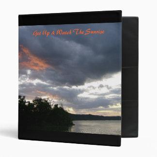Get Up & Watch The Sunrise Binder