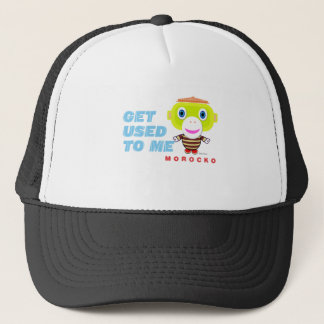Get Used To Me-Cute Monkey-Morocko Trucker Hat