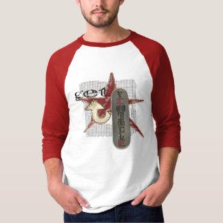 Get Verticle - Basic 3/4 Sleeve Raglan Tee Shirt