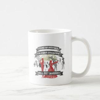GET wants married - Zombie Apocalypse Coffee Mug
