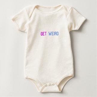 Get Weird Baby Bodysuit