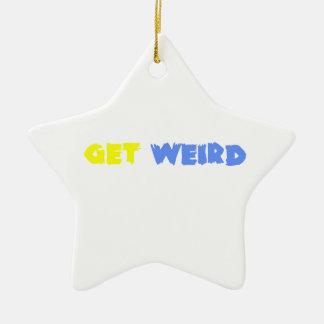 Get Weird! Christmas Tree Ornament