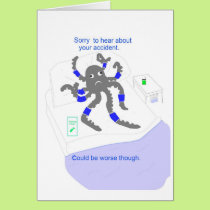 Get well after accident card