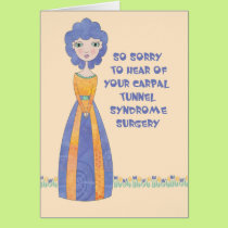 Get Well Card for Carpal Tunnel Syndrome Surgery