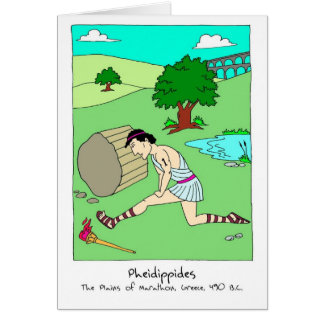 Get Well Card for Runner - Pheidippides