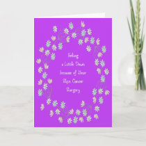Get Well Card for Skin Cancer Surgery