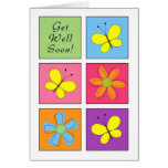 Get Well Cheery Greeting Card