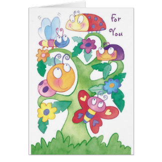 Get Well-Feeling Sad?  Well, don't be bugged! Greeting Card