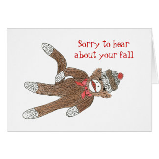 Get Well from a fall Card