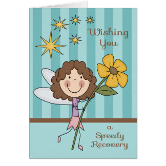 Get Well From Hospital Fairy Card