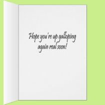 Get Well, Gastric Bypass Surgery Greeting Card
