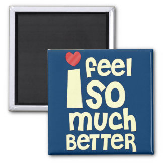 Get Well Gifts T-shirts Feel Better Refrigerator Magnet