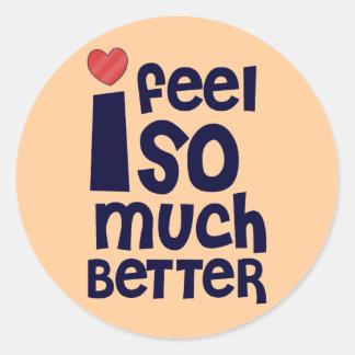 Get Well Gifts T-shirts Feel Better Sticker