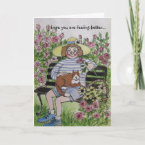 GET WELL, GREETING CARD
