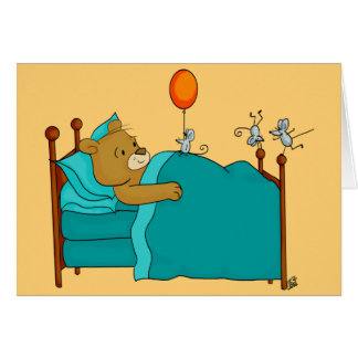 Get Well Greeting Card - Get Well Soon