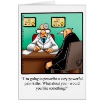 Get Well Humor Greeting Card