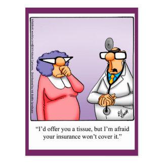 Get Well Humor Postcard