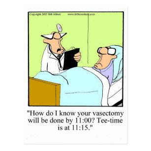 Vasectomy cards zazzle get well humor postcard spectickles solutioingenieria Gallery