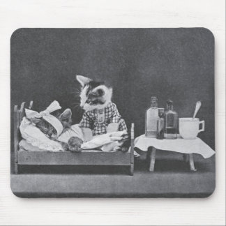 Get Well, Kitty Mouse Pad