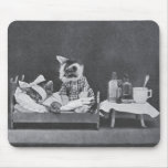 Get Well, Kitty Mouse Pads