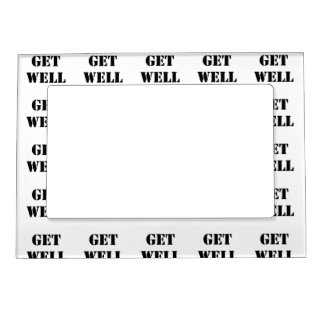 Get Well Magnetic Picture Frame