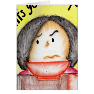 Get Well Mighty T Greeting Card