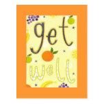 Get Well Postcard
