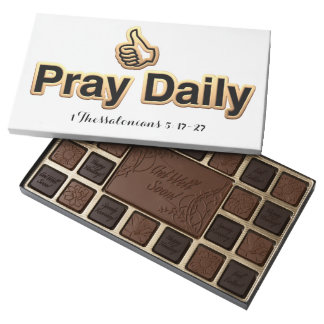 Get Well Pray Daily  45 Piece Assortment Assorted Chocolates