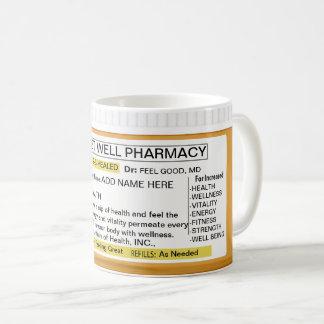 Get Well Prescription RX Coffee Mug
