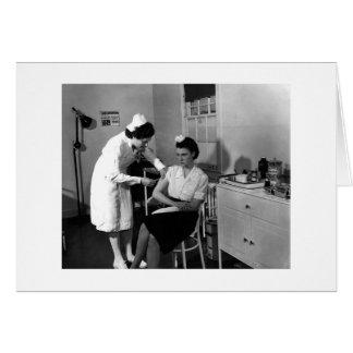 Get Well Soon - 1940s Card