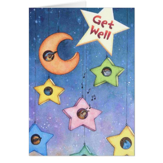 Get Well Soon Card By Dark Heaven Rock 13