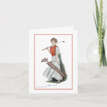 Get Well Soon Card for Golfer