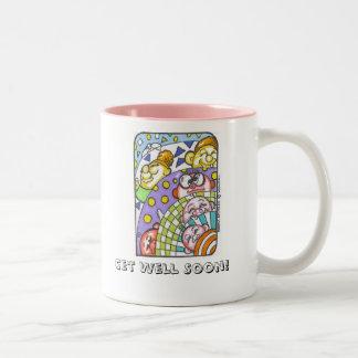 Get Well Soon! Coffee Mugs