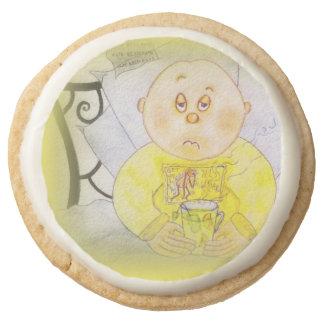 Get Well Soon Cookies Round Premium Shortbread Cookie