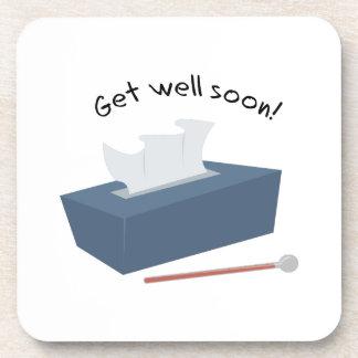 Get Well Soon Coaster