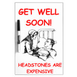 get well soon Dry-Erase boards