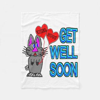 Get Well Soon Fleece Blanket