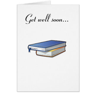 Get Well Soon from Book Club Card