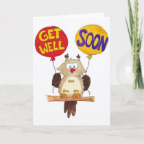 GET WELL SOON greeting card by Nicole Janes