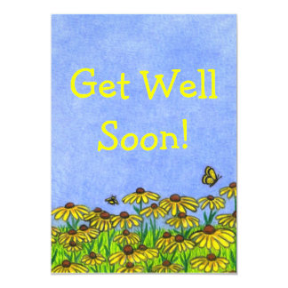 Get Well Soon!~Greeting Card~Personalize! Card