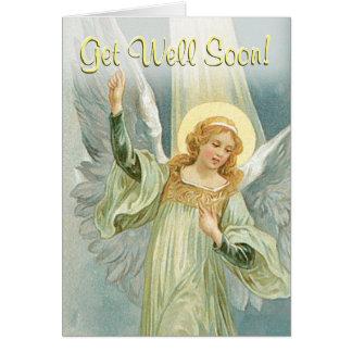 Get Well Soon - Guardian Angel Card