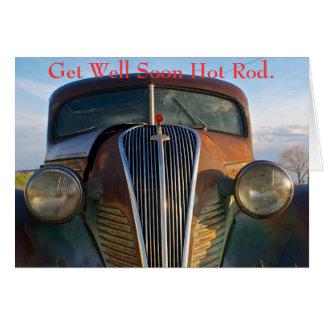 Get Well Soon Hot Rod Card