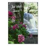 Get Well Soon Hydrangea Waterfall Card