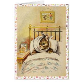 Get Well Soon Kitty Card