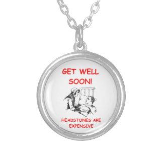 get well soon pendant